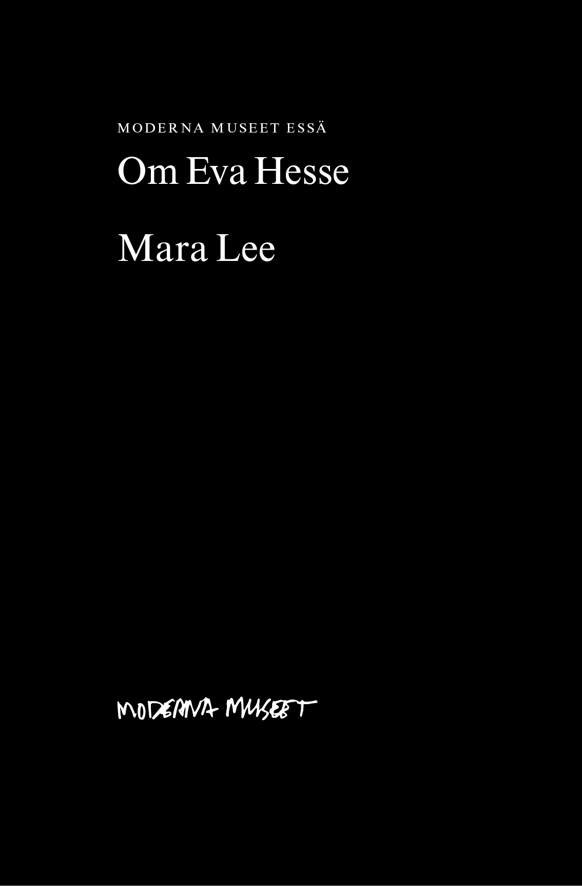 Thumbnail for Om Eva Hesse